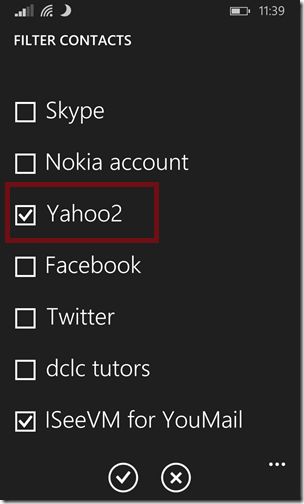 Sync Yahoo Contacts6