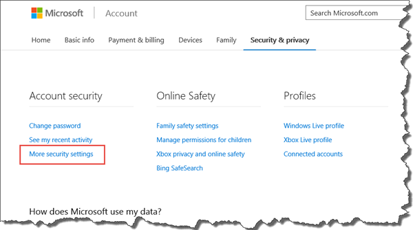 Microsoft Account1